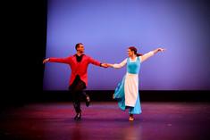 Yuriy and Sarah performing at the Spring showcase