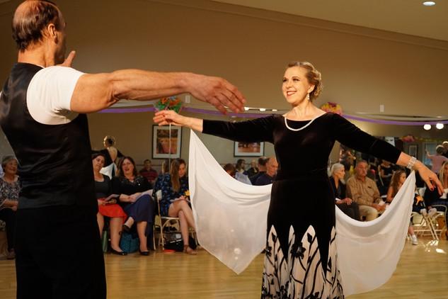 Mark and Nadia dancing on Dancebration Day