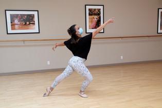Ballet instructor Olivia