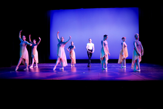 Ballet performance at the spring showcase