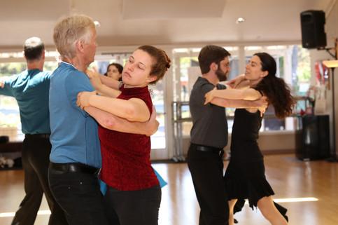 Ballroom group class with Olga and Dima