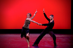 Debbie and Yuriy performing at the Spring showcase