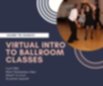 Virtual intro to ballroom dance classes