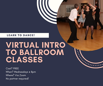 Virtual intro to ballroom dance classes