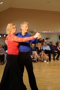 Rita and Steve dancing on Dancebration Day