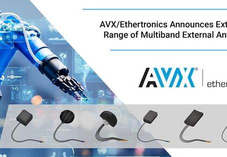 AVX/Ethertronics Announces New Range of External Antennas