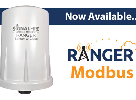 SignalFire RANGER Sensor-to-Cloud Platform Adds Modbus Option