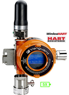 FieldComm Group Validates United Electric Controls Vanguard WirelessHART Gas Detector