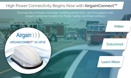 Airgain Announces AirgainConnect, its Integrated Modem and Antenna Platform