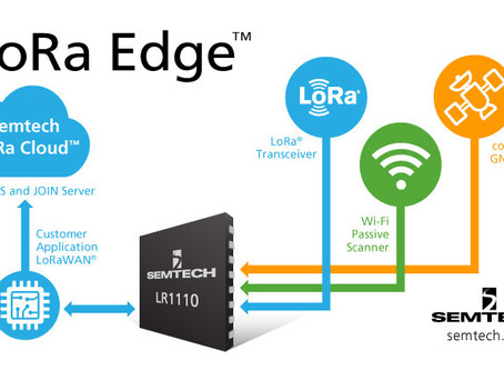 Semtech Releases LoRa Edge Portfolio of Solutions to Simplify and Accelerate IoT Application