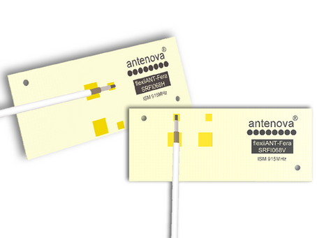 Antenova's new Flexible Fera Antenna for new Miniature Devices on 915MHz ISM and LoRaWAN
