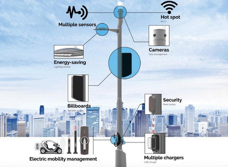 New Report Finds Smart Pole Deployments Are Expected to Experience a 50% Compound Annual Growth Rate