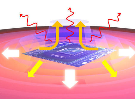 Surface Waves Can Help Nanostructured Devices Keep Their Cool
