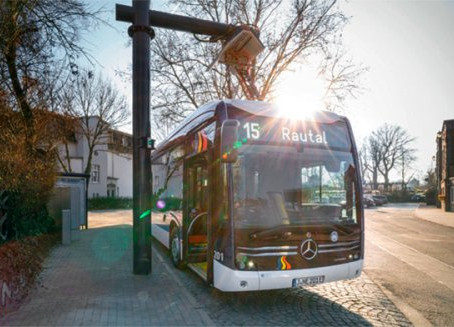 Monitoring the Charging Stations of the e-Bus Fleet of the City of Jena