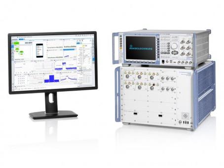 BluetestAadds Option to Integrate R&S CMX500 5G Radio Communication Tester