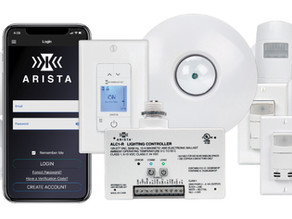 ARISTA Advanced Lighting Control System Brings Simplicity, Smart Technology to Commercial Lighting