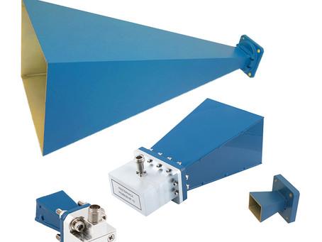 Pasternack Debuts New ProLine Series Standard Gain Waveguide Horn Antennas
