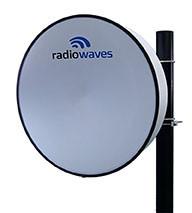 RadioWaves Adds New Wideband, 4.9 GHz - 6 GHz Dual-Polarized, Parabolic Antenna Line