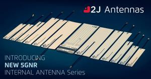 2J Antennas Introduces 5GNR Ultra-Wideband Cabled Internal Antenna Portfolio