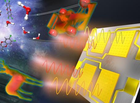 WPI-MANA Creates On-chip Sensor for Infrared Spectrography