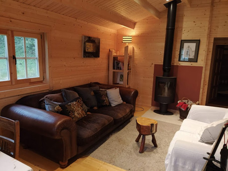 What our log cabin show house visitors think