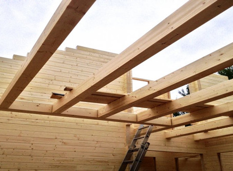 How are Log Cabins constructed?