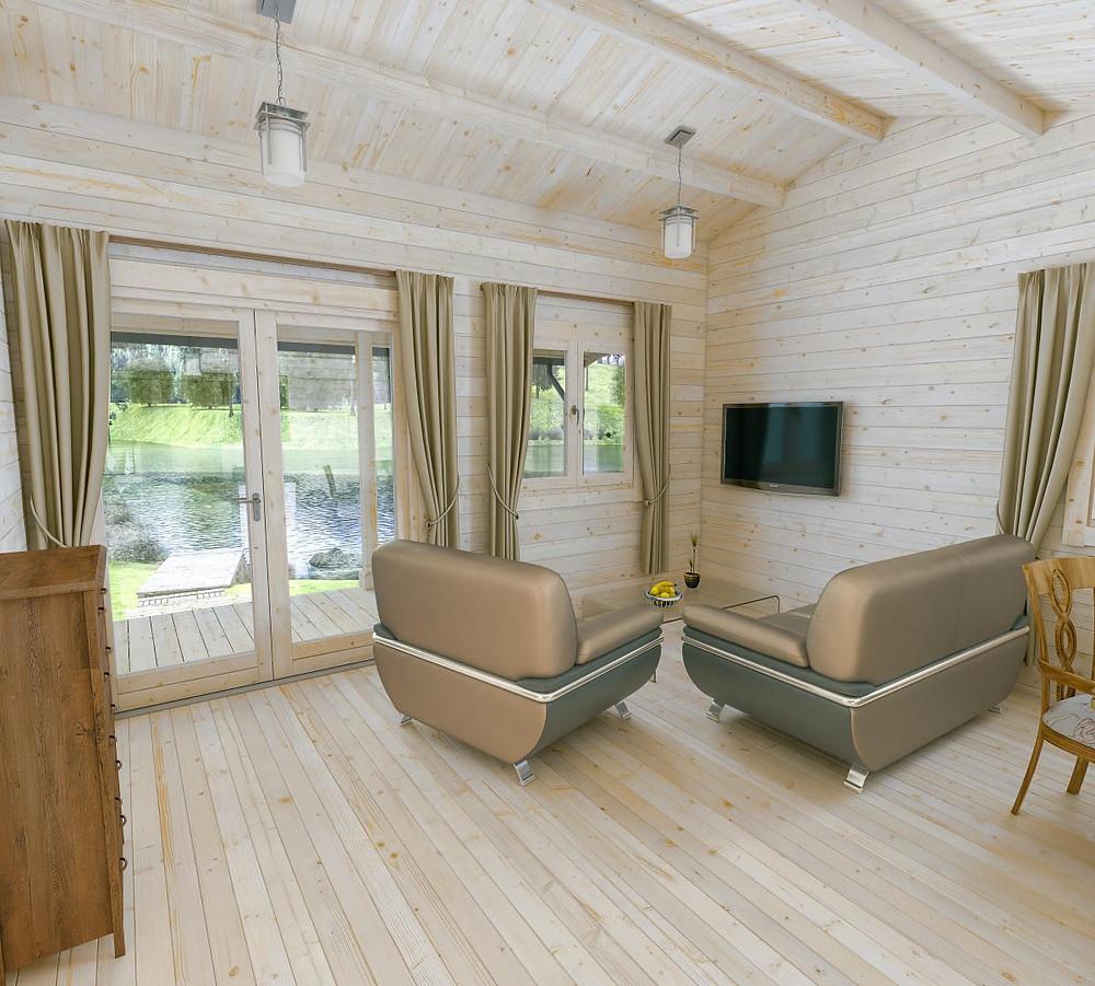 healthy log cabin ireland living