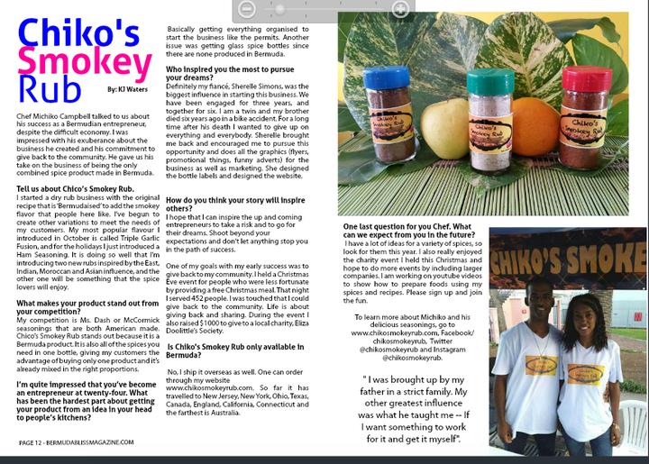 Bermuda Bliss Magazine