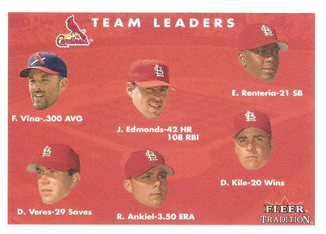 2001 Fleer Tradition