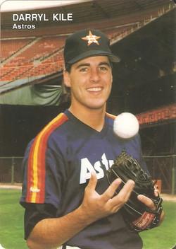1991 Mothers Cookies Astros