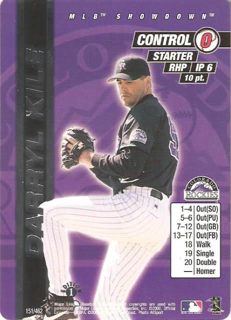 2000 MLB Showdown 1st Edition