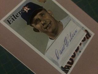 A Custom Cut Autograph of Who?