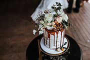 evoke co photography wedding cake
