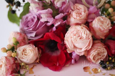 flowers fondant