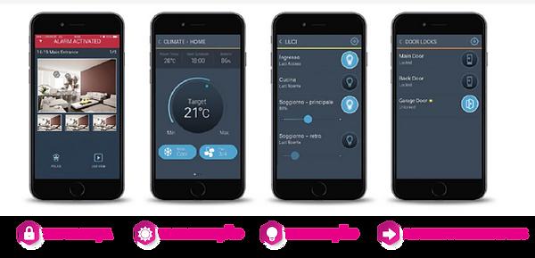 aplicação mobile para alarme