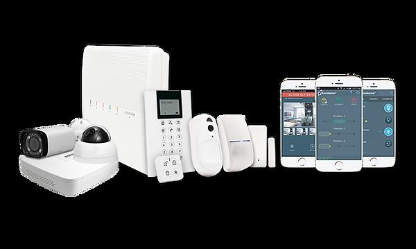instalação de alarmes de intrusão