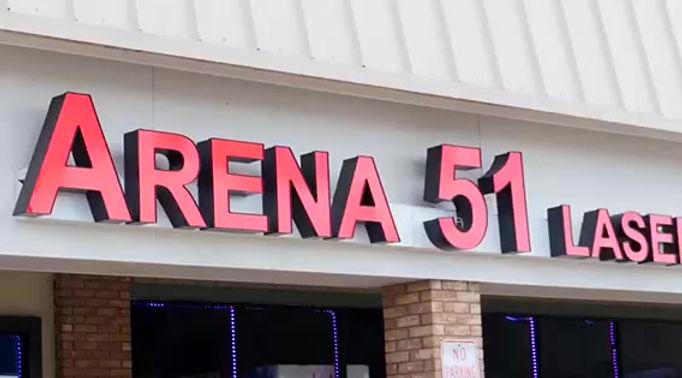 Arena 51 Laser Tag Arena Cleveland Ohio