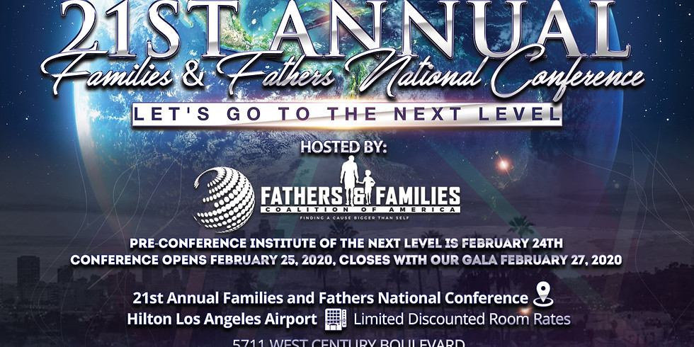 21st Annual Families & Fathers National Conference
