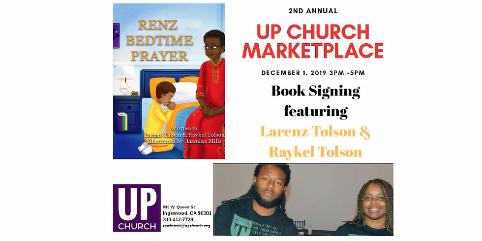 Book Signing at the 2nd Annual UP Church Marketplace