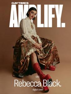 HAIR + MAKEUP GAY TIMES - REBECCA BLACK