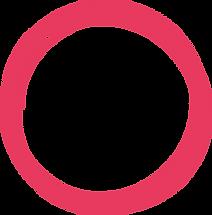 Furniture installation red ring pattern.