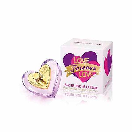 LOVE FOREVER LOVE EDT 80ML