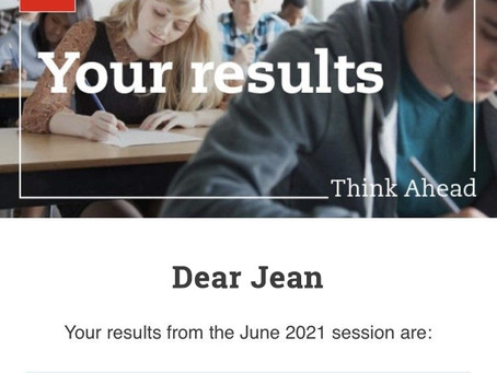 June 2021 ACCA Exam Result