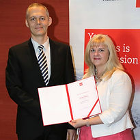 acca student who has achieved the first prize winner in Slovakia