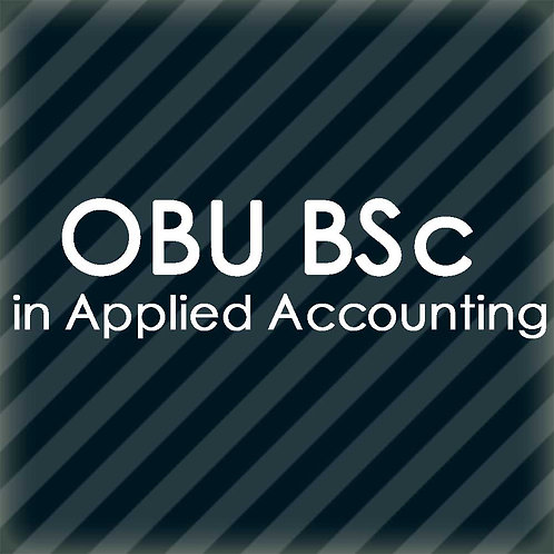 OBU BSc in Applied Accounting Golden Package