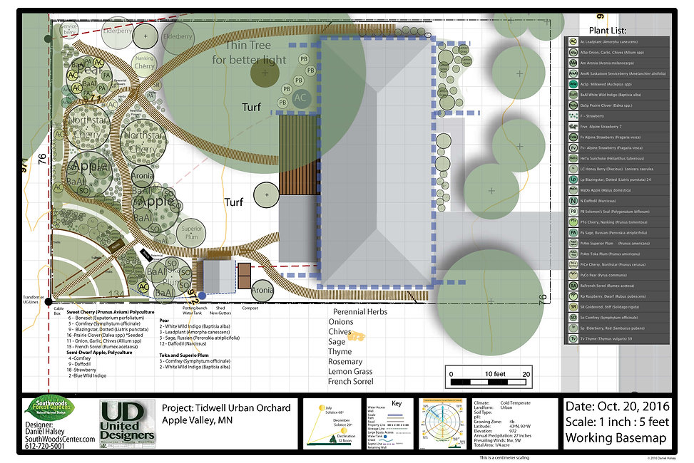 Tidwell Urban Orchard - MN - United Stat