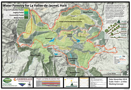 La Valee de Jacmel - District Forest Pla