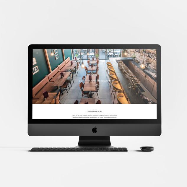 Gestion de projet pour la mise en ligne du site du restaurant Les Assembleurs