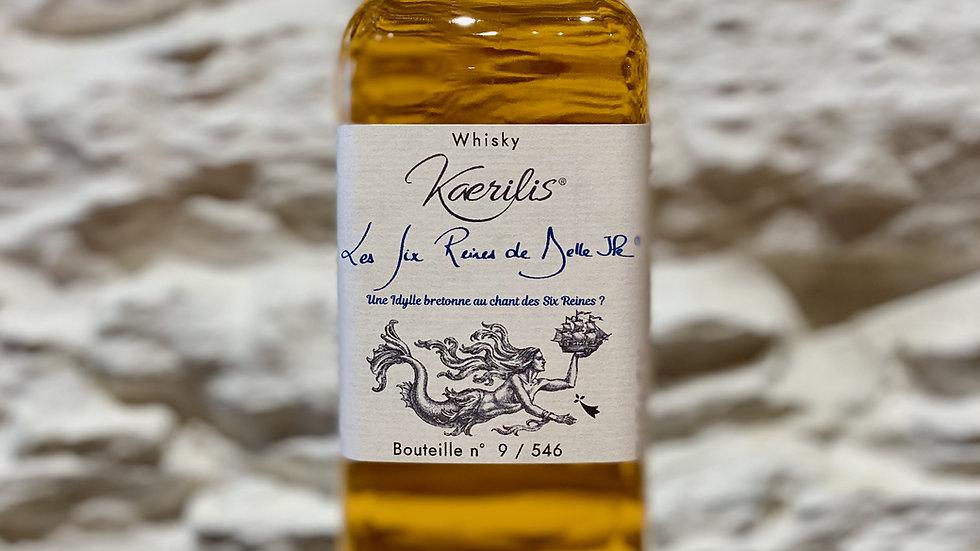 Whisky Les Six-Reines de Belle-Île, 50 cl, 43,2% vol.