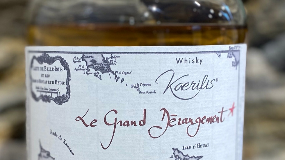 Whisky Le Grand Dérangement, 50 cl, 43.2% vol